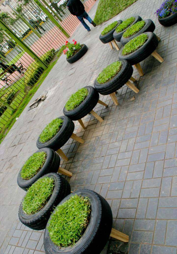 Creative Ideas To Reuse Old Tires