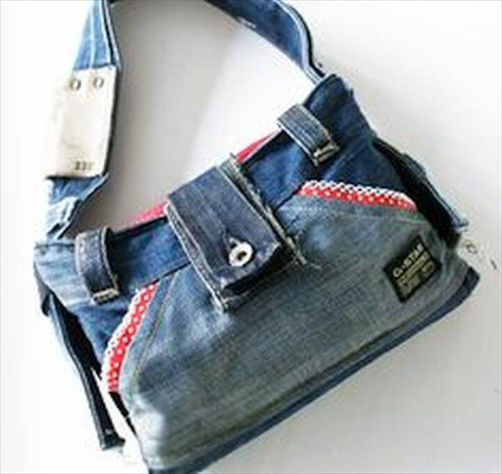 bag from jeans