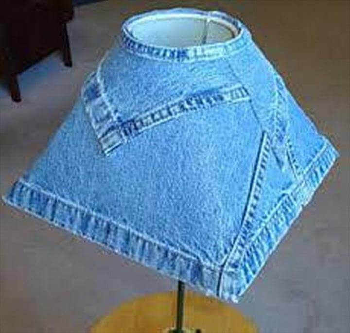 jeans lamp