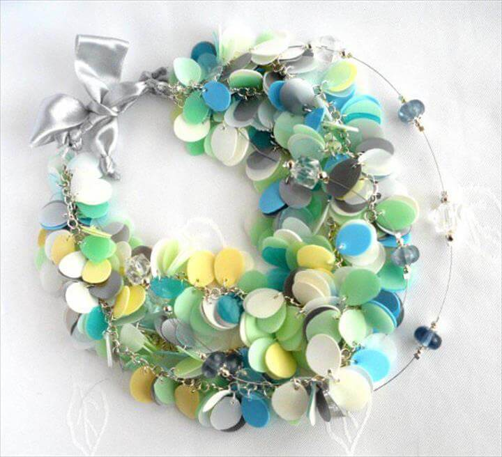 45Quick & Easy To Make Recycled Jewelry Design