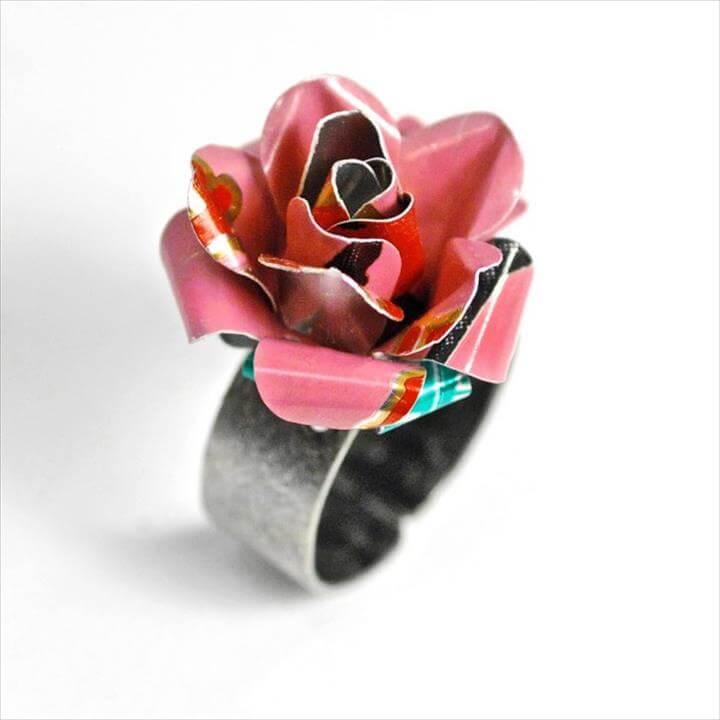 Flower ring: