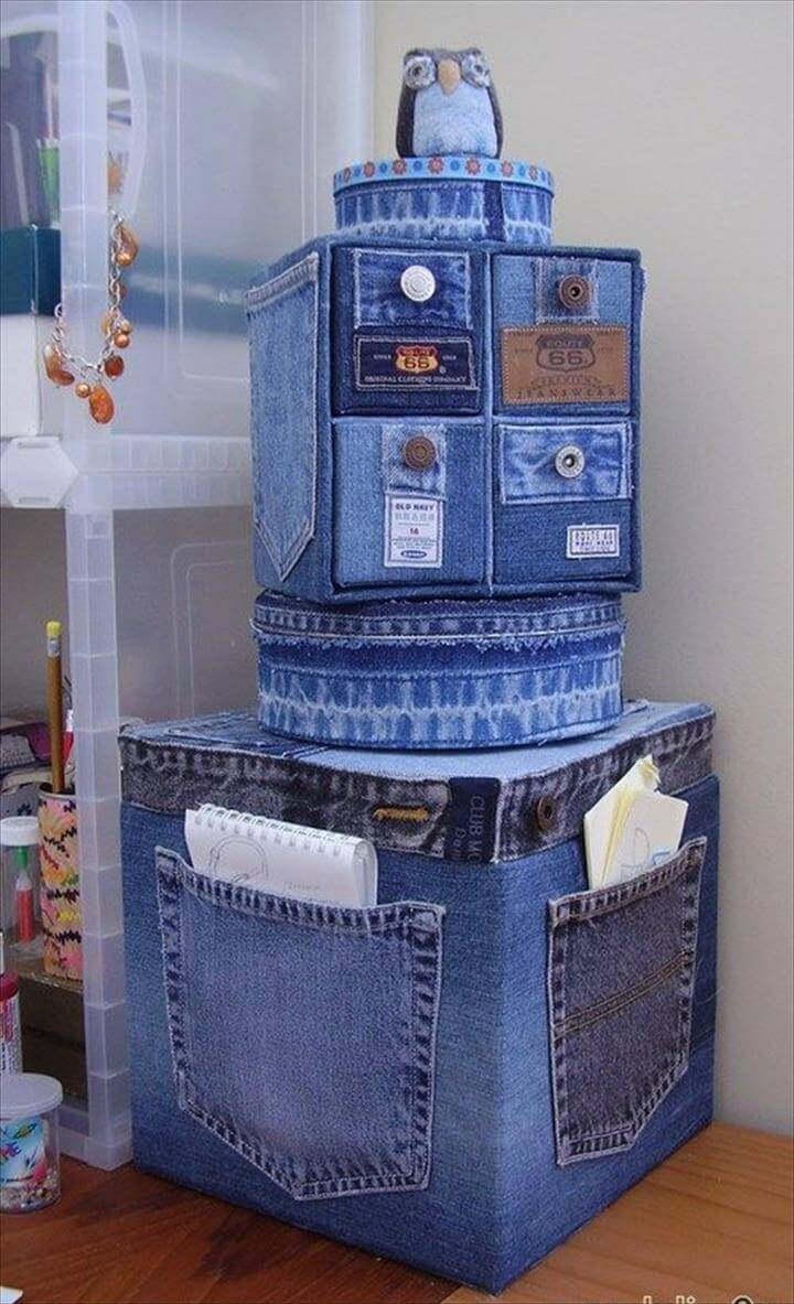 95 DIY Things You Can Make With Old Jeans | DIY to Make