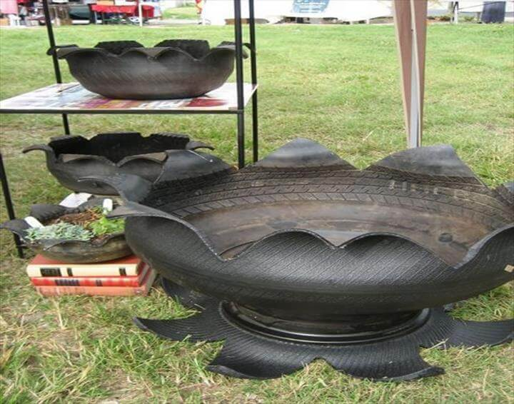 Recycled Old Tires Ideas