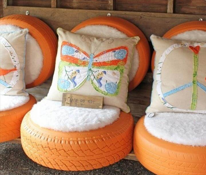 Recycled Crafts, DIY Recycled Tires, Old Tires Designs, Recycled Tires Crafts, Recycled