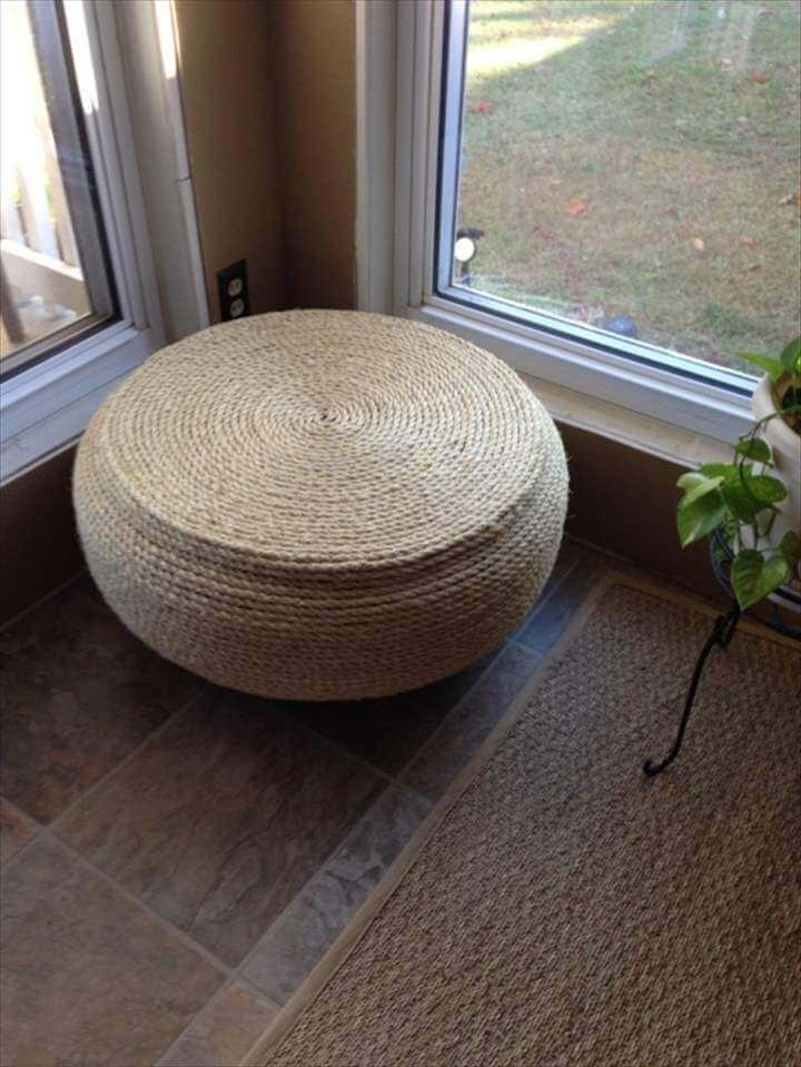 Great DIY Projects - Make interesting furniture from car tires
