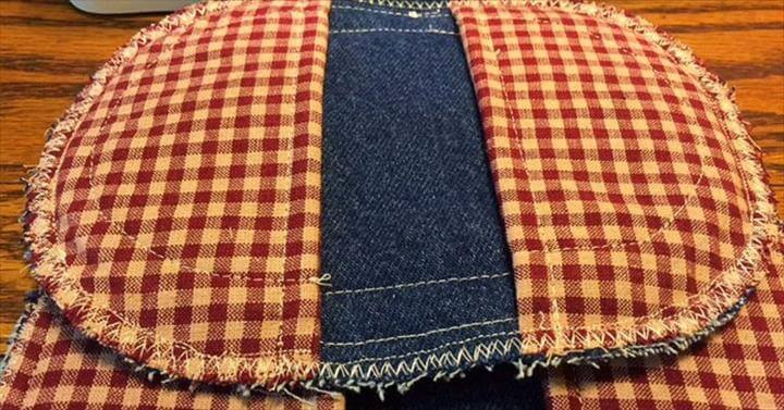 This is a quick easy project for making potholders out of old jeans.