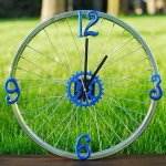 Top 33 Amazing Bike Wheels Craft Ideas