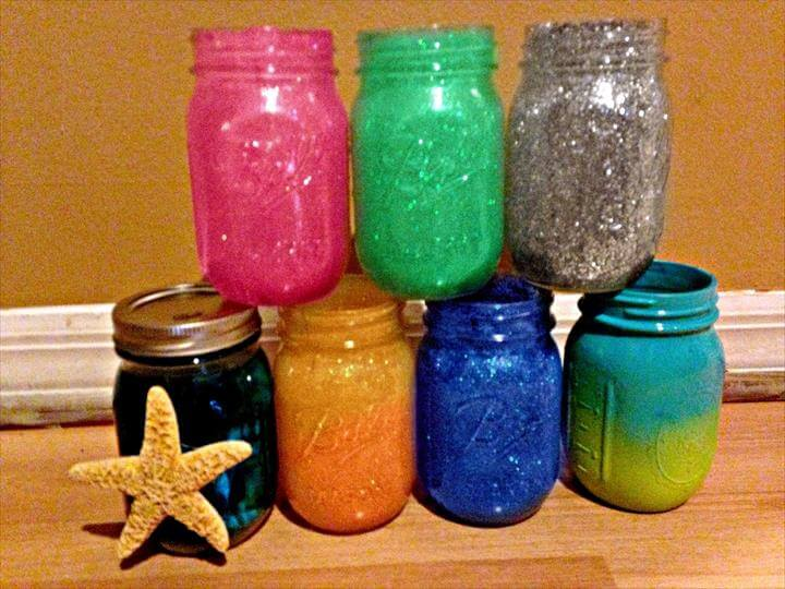 Glitter Craft Projects