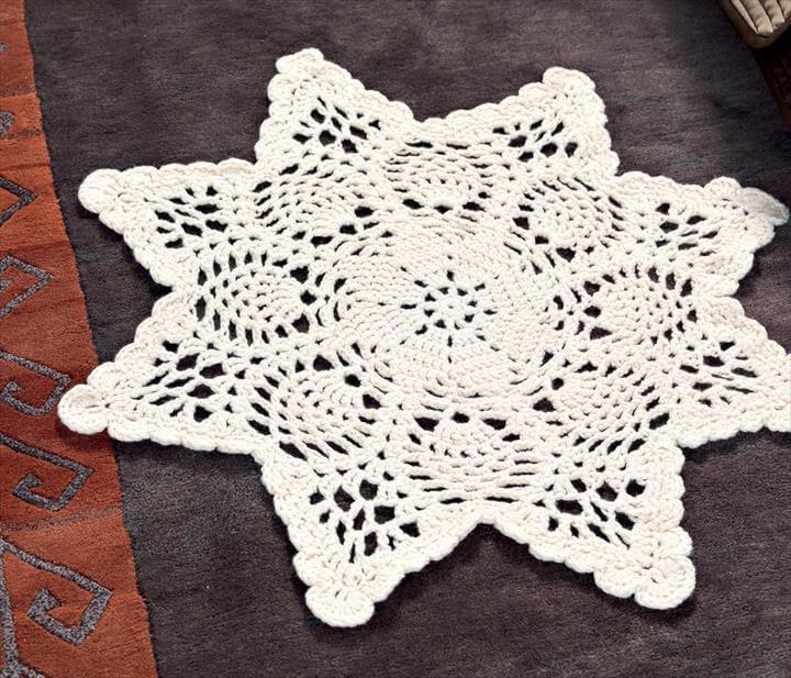 42 Quick & Easy Crochet Doily Pattern DIY to Make