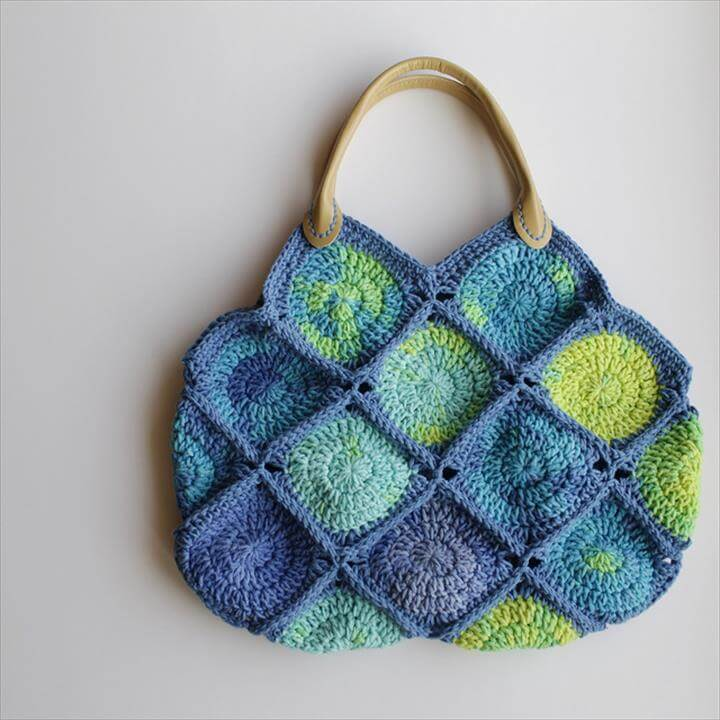 Crochet Backpack Purse : 42 Fabulous Handmade Crochet Bag & Purses DIY to Make