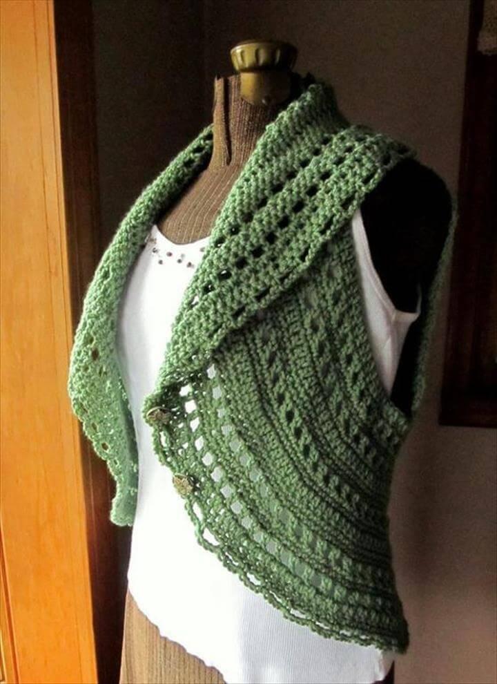 Free Crochet Shrug