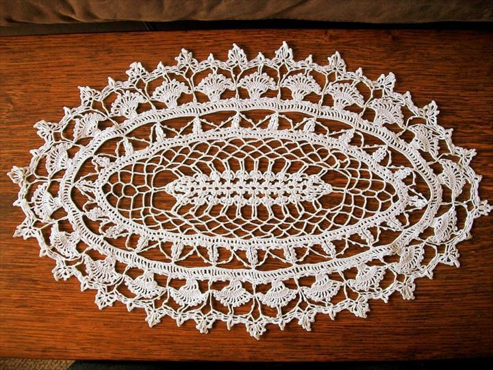Free Crochet Patterns For Table Doilies : 42 Quick & Easy Crochet Doily Pattern DIY to Make