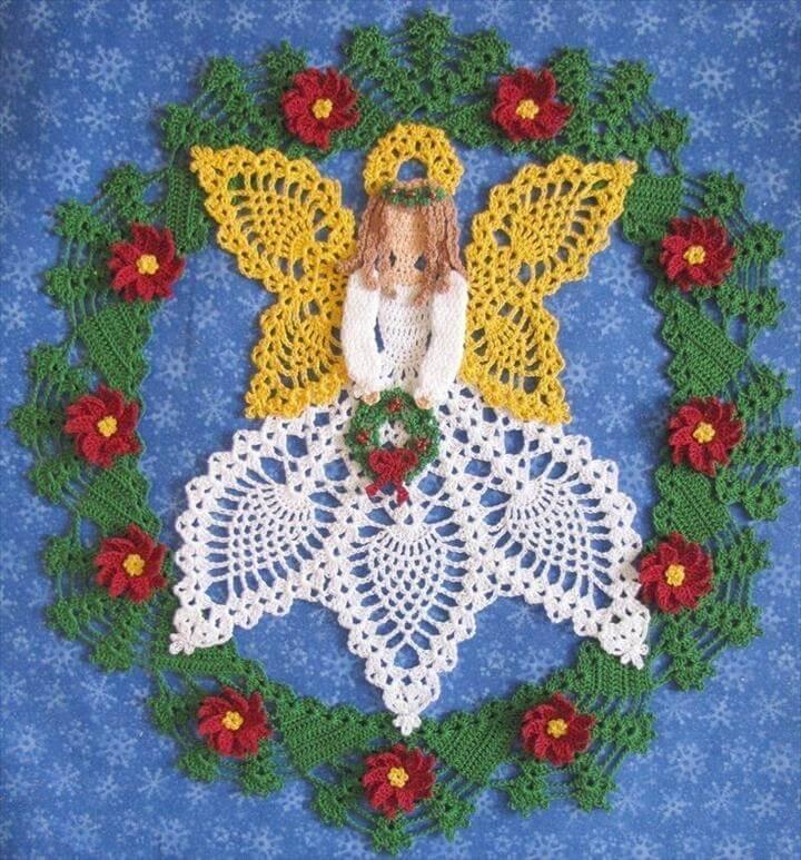 diy handmade crochet doily