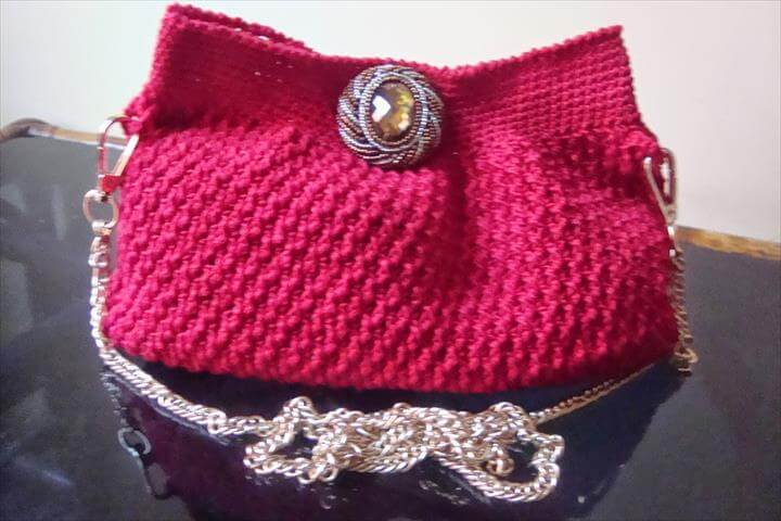 crochet evening purse Crochet Evening Purse Free Pattern
