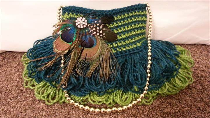 Crochet Handbag Purse