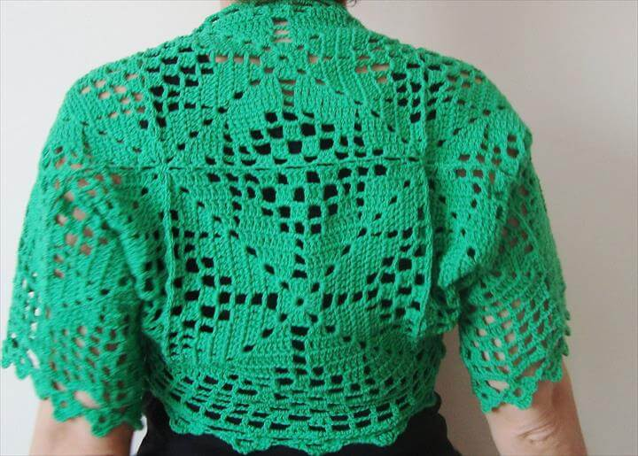 Crochet Shrug Patterns Lace Shrug Pattern