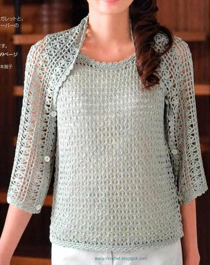 We just love finding those timeless pieces that become wardrobe staples. This Crochet Cocoon Shrug Pattern is one such item that will be in continual rotation and you will more than likely wear it to death. It's that piece that can be thrown on at a minutes notice and give you that stylish and effortless look we all love so much!