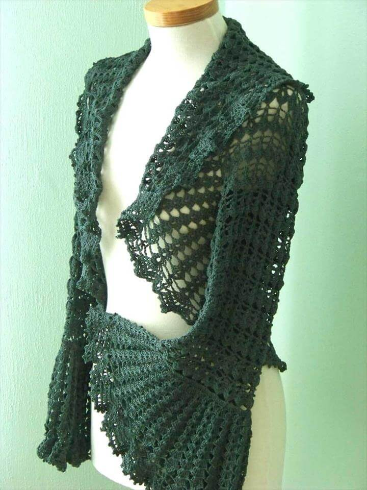 Crochet Patterns: Shrugs and Bolero's