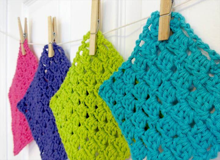 Crochet Sparkling Clean Dishcloths