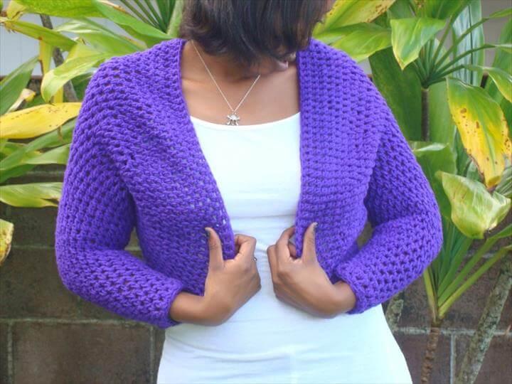 awesome crochet shrug