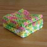Crocheted Dishcloth Pattern ...