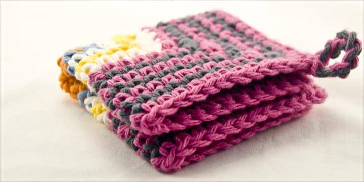 Crocheted Dishcloth Patterns