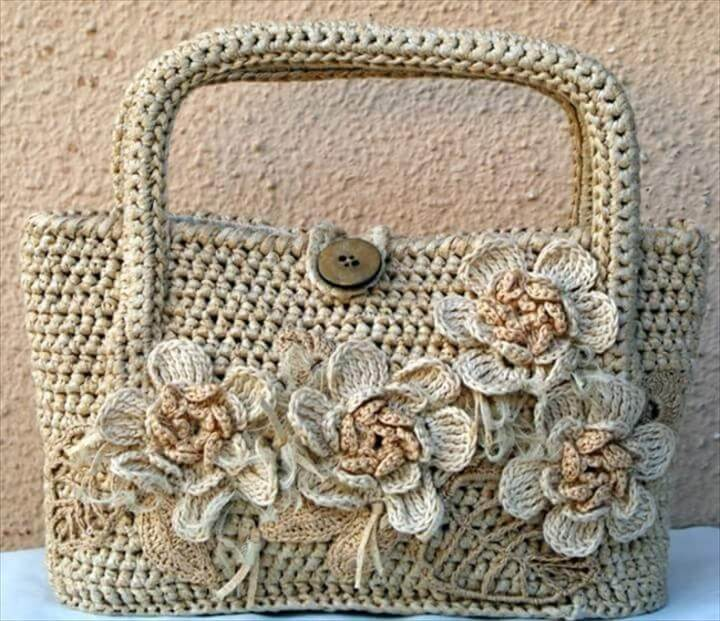 How To Crochet A Bag : 20 Crochet Purse Design For Girls DIY to Make