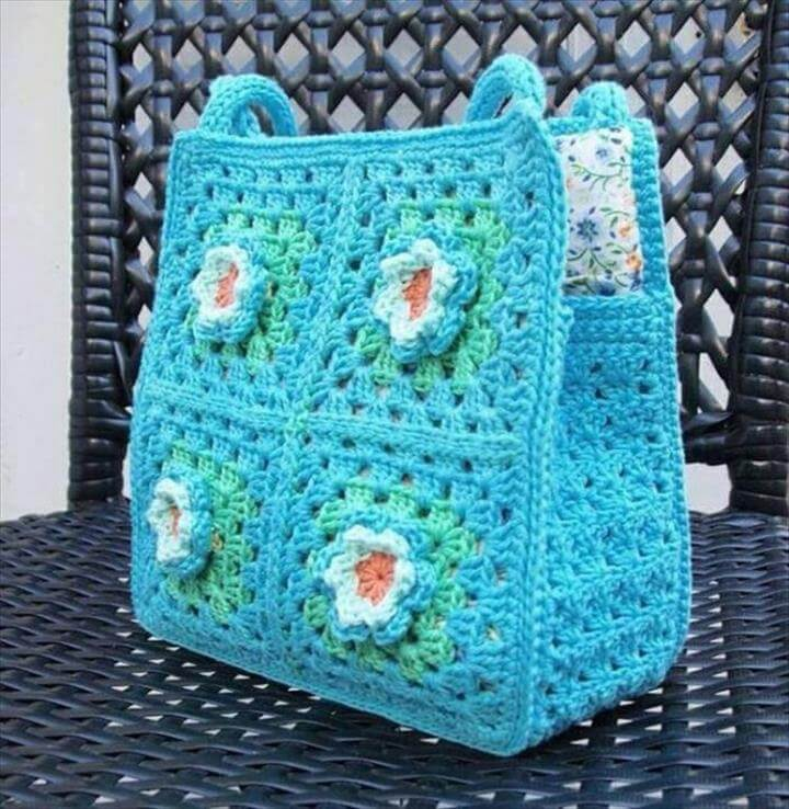 Free Crochet Pattern For Small Tote Bag : 20 Crochet Purse Design For Girls DIY to Make