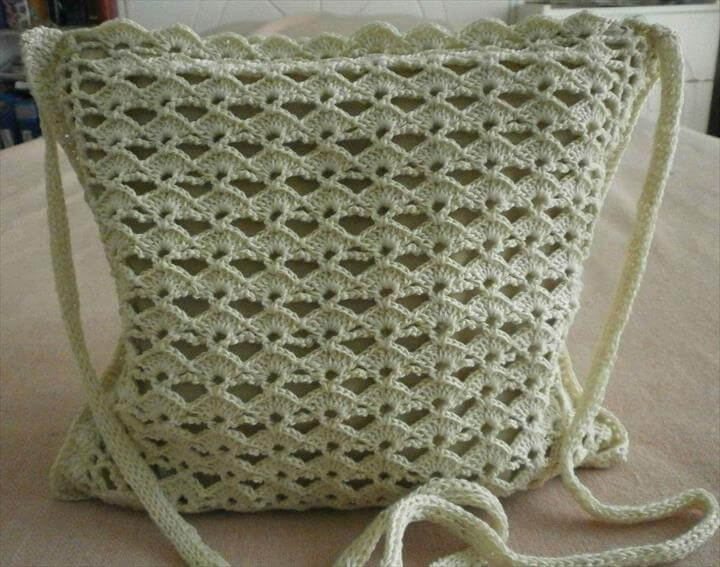 Free Crochet Pattern For Small Tote Bag : 42 Fabulous Handmade Crochet Bag & Purses DIY to Make
