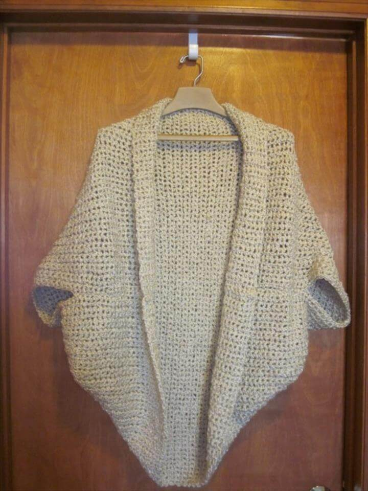 crochet granny shrug free pattern