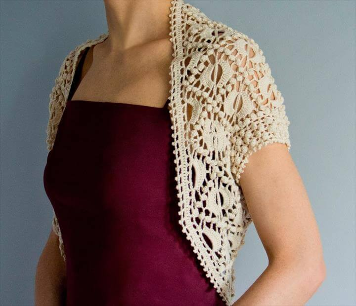 Favorite patterns - crochet shrug