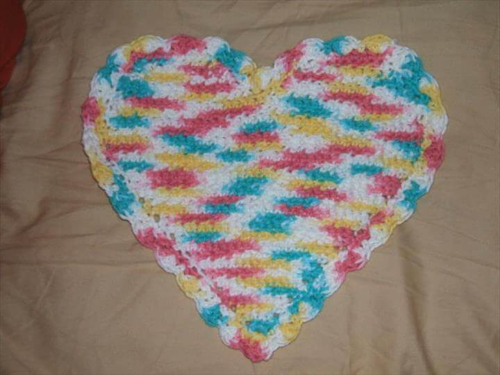 Free Crochet Pattern for Dishcloth