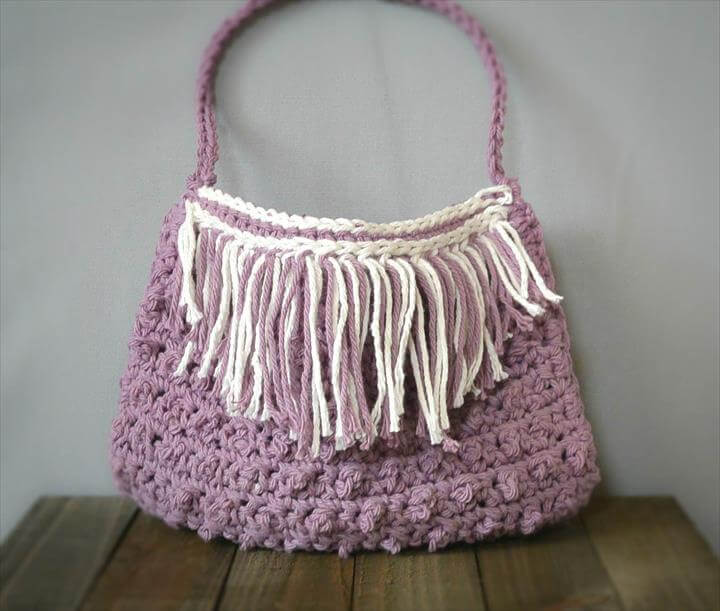 Fringed Summer Crochet Bag Pattern