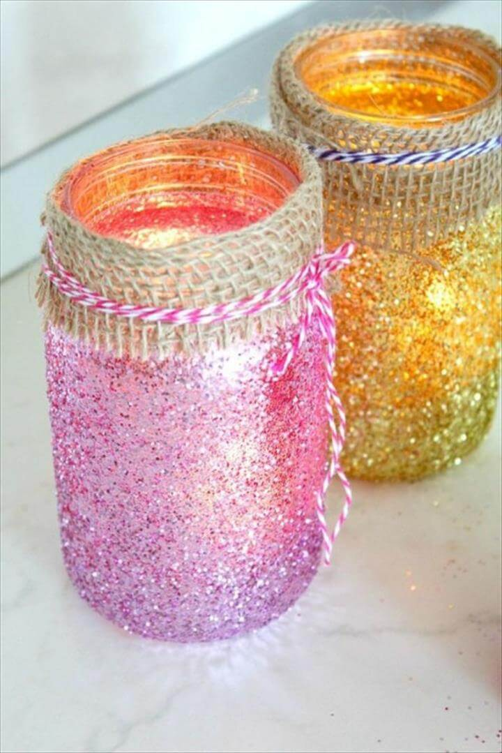 Easy DIY Mason Jar Luminaries Tutorial