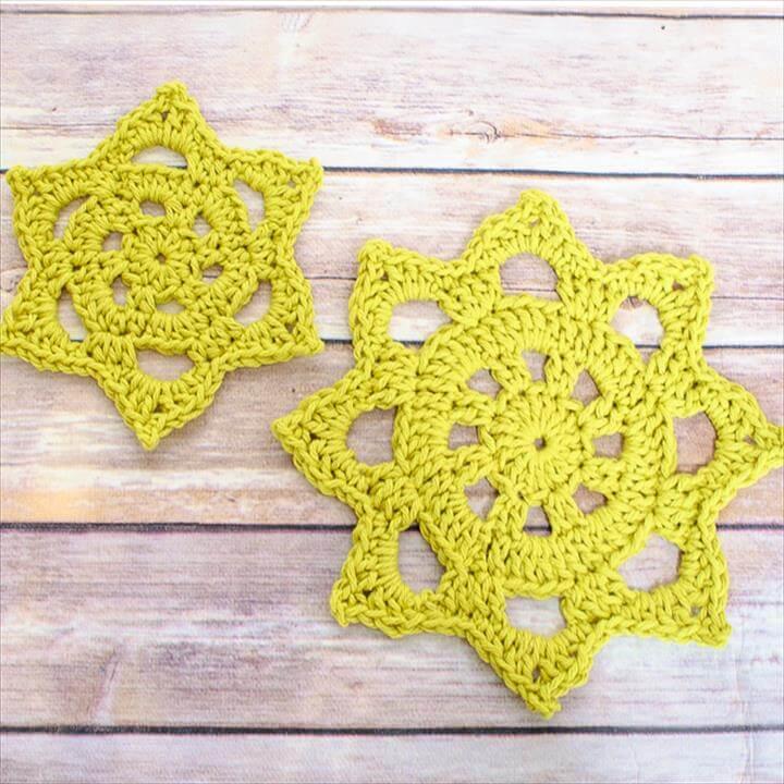 Chunky Crochet Doily Pattern