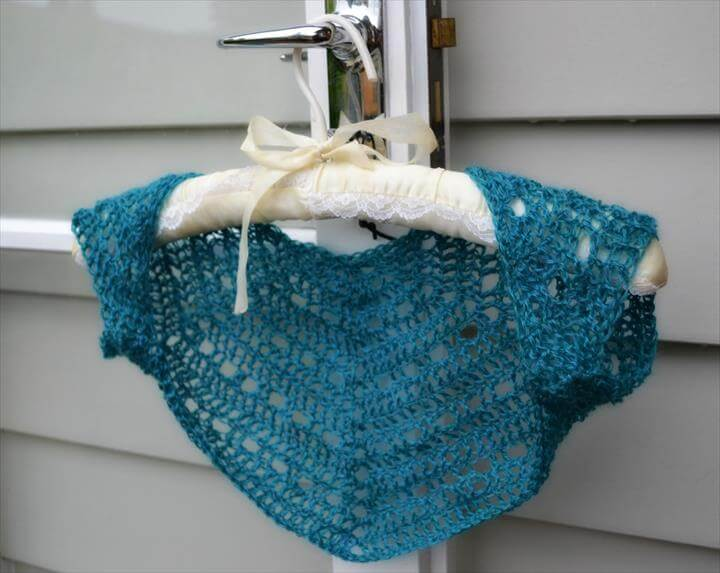 Crochet Shrug for Spring