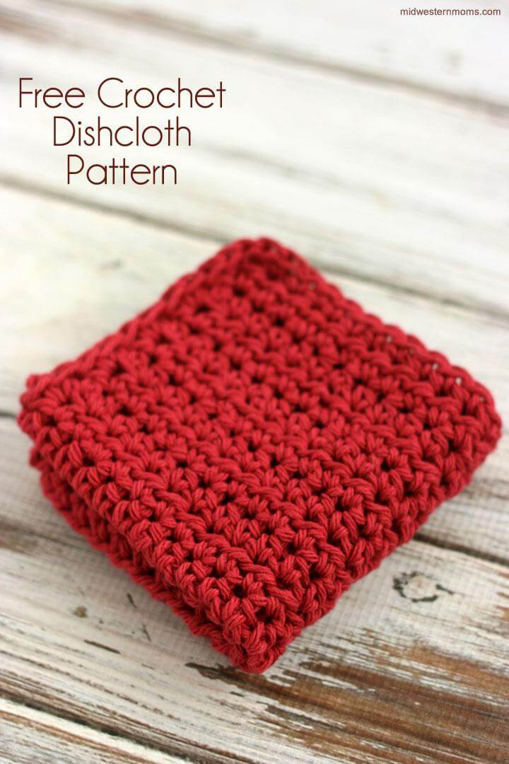 Free Primrose Stitch Crochet Dishcloth Pattern