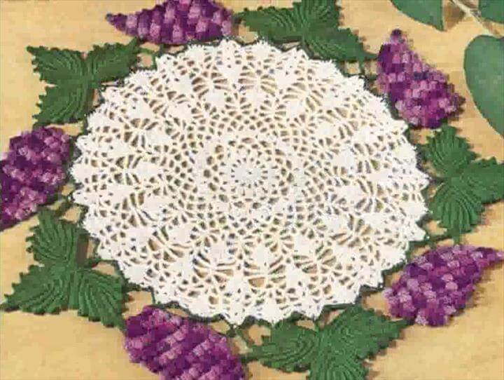 42 Quick Easy Crochet Doily Pattern Diy To Make
