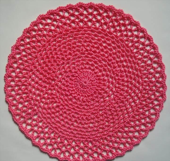 Crochet Doilies and Crochet Ball