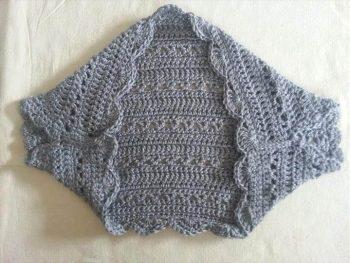 crochet shrug for springtime!