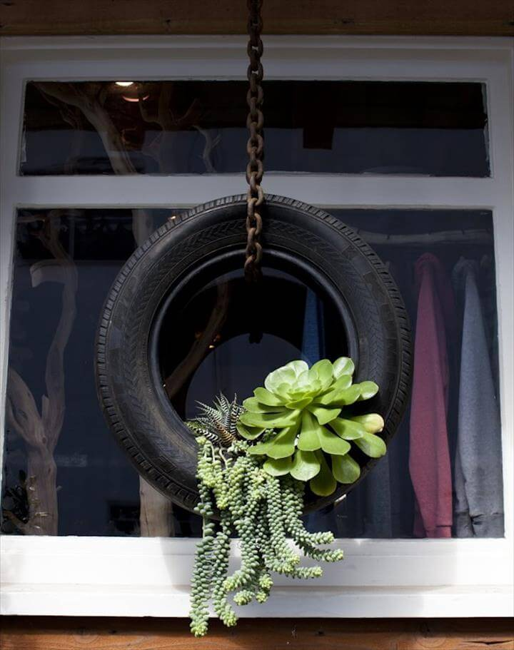 Upcycled & Recycled Tires: Art, Home Decor & More!