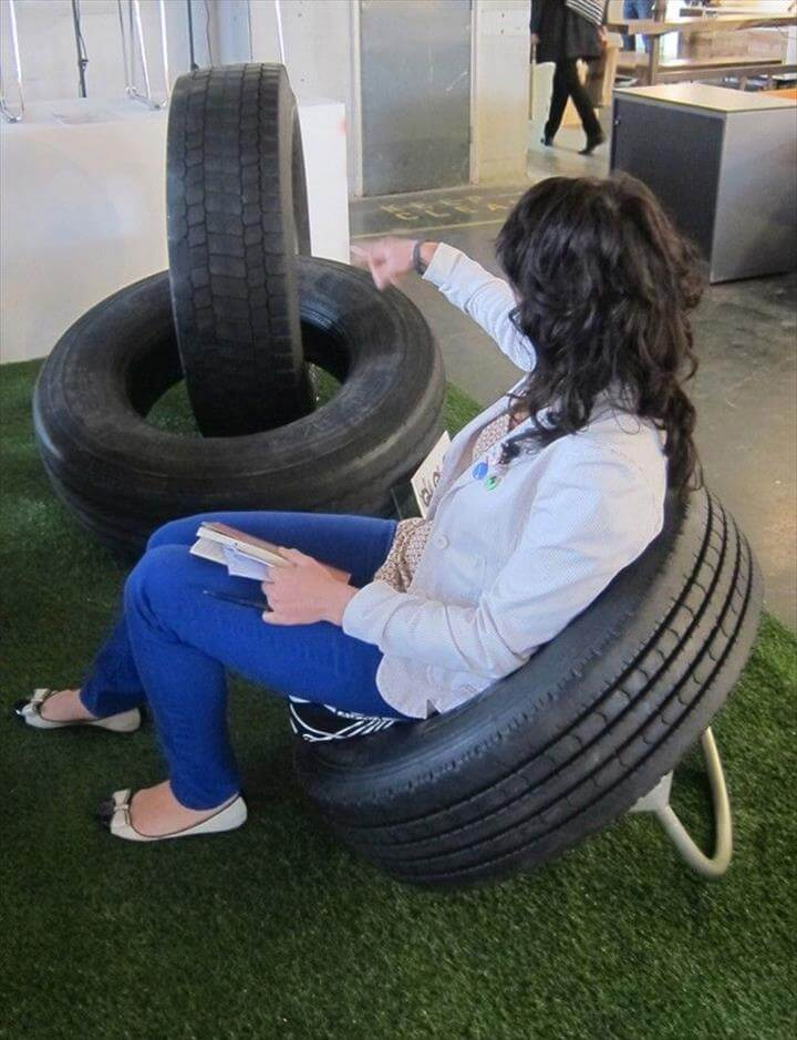 Top 28 Old Tire Into Something New Ideas DIY To Make