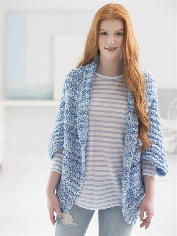 This Simple Crochet Shrug is a customer favorite