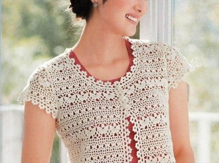Unique Crocheting Idea for Shrug