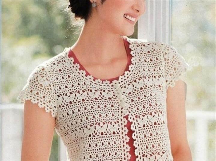 Unique Crocheting Idea for Shrug