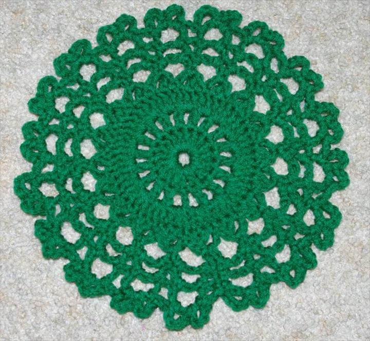 Ten Inch Doily Crochet Pattern