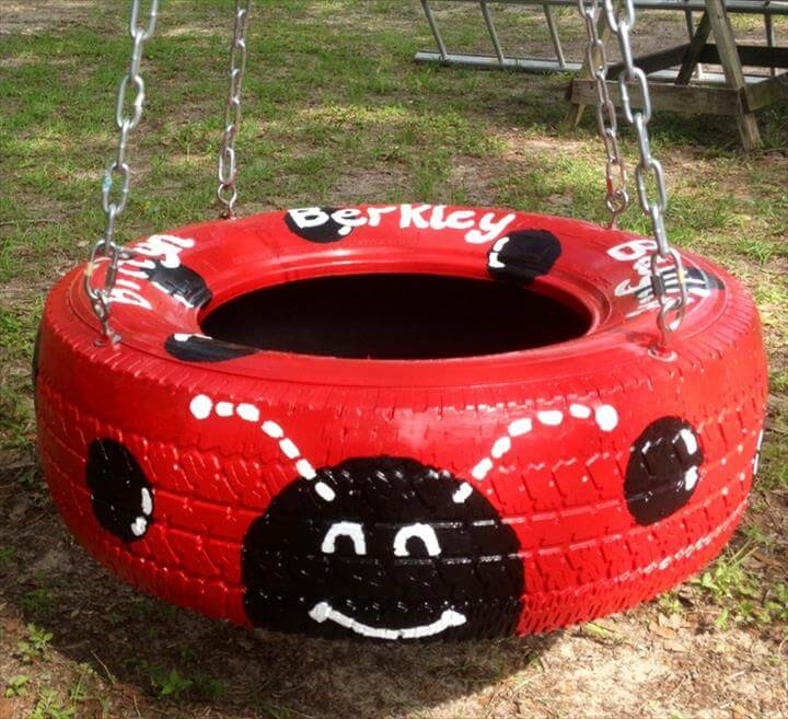 Amazing recycled tire ideas.