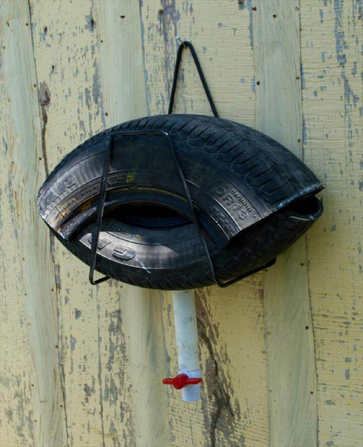 Recycled tire traps are seven times more effective than traditional mosquito traps