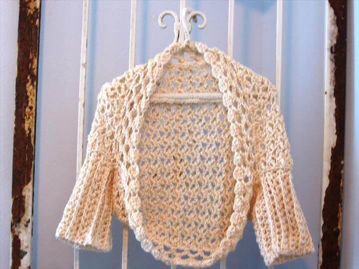Venturesome Vanilla Sweater PDF Crochet Pattern instant