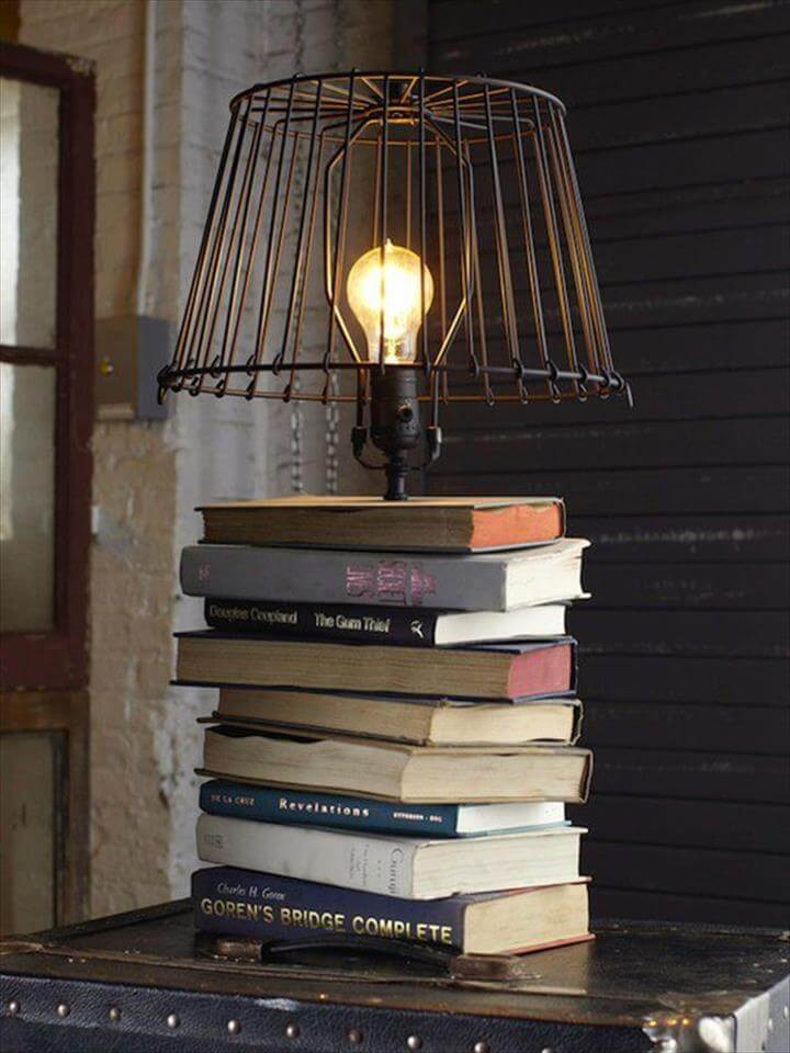 DIY Projects Made From Old Books
